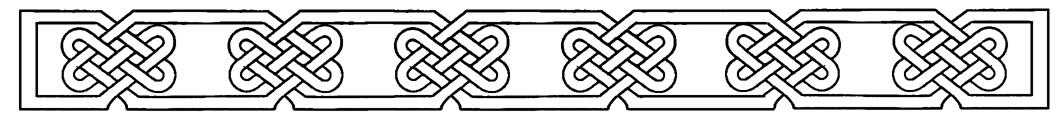 vintage pattern border
