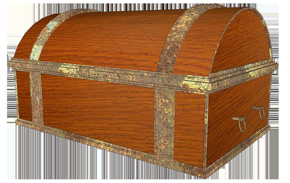 Pirate chest clipart