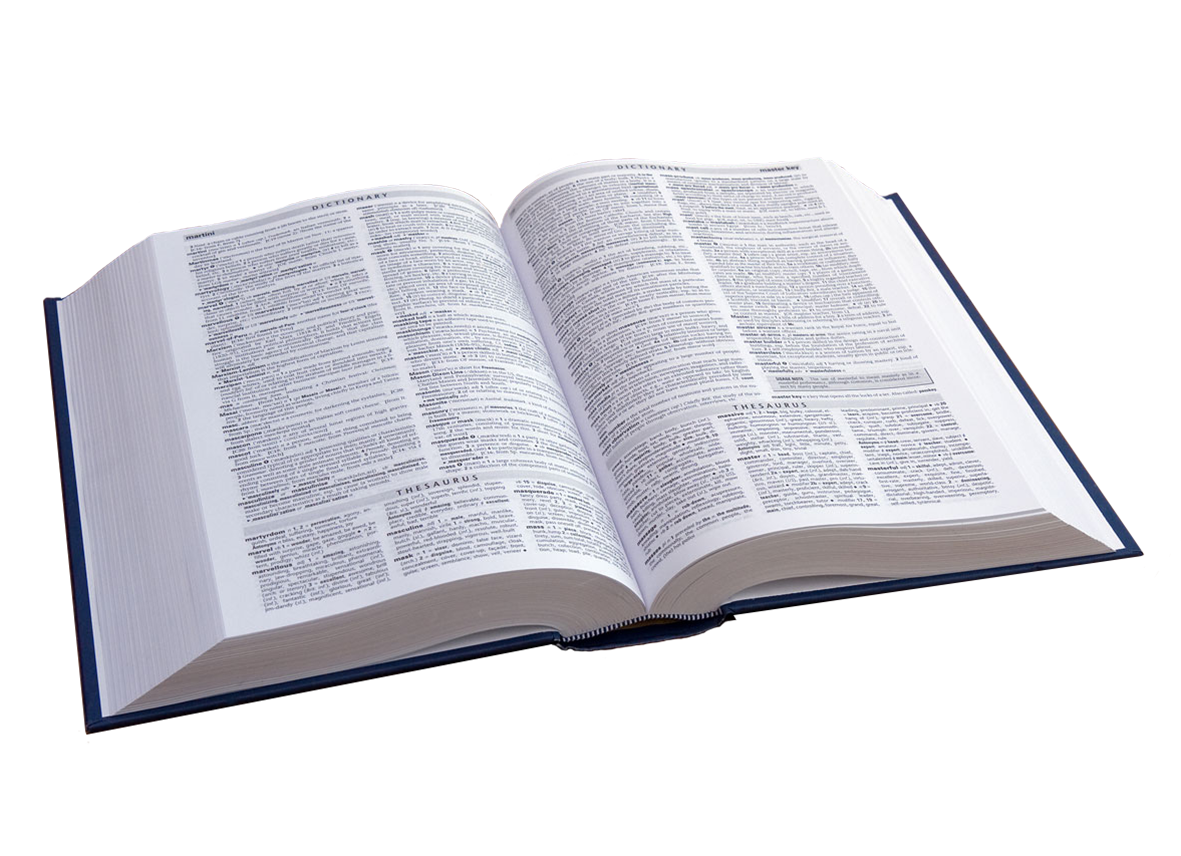 open book clipart dictionary