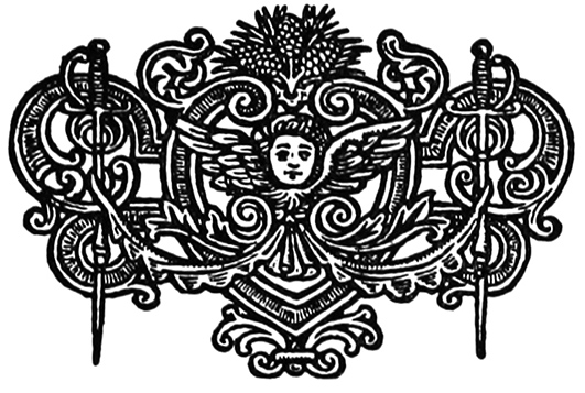 ornament with swords