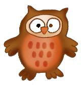 baby owl clip art