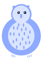 owl clip art blue owl drawings
