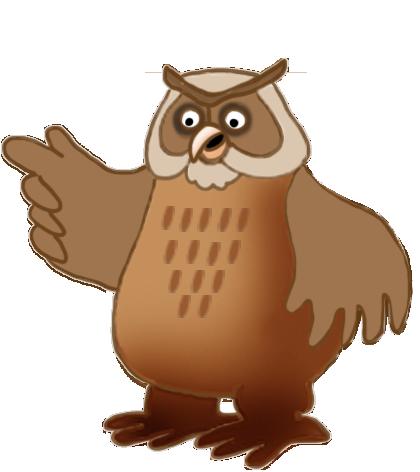 owl clip-art brown owl