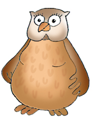 owl clip art lady owl