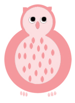 owl clip art red owl drawings