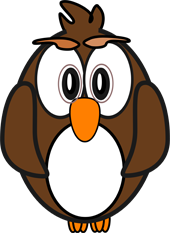 cartoon owls starnge owl