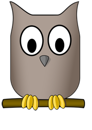 stylized owl drawings