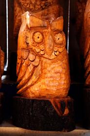 owl clip art wooden owl