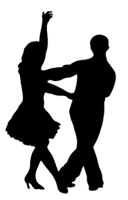 party clip art dancer silhouette