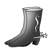 party clip art western boots