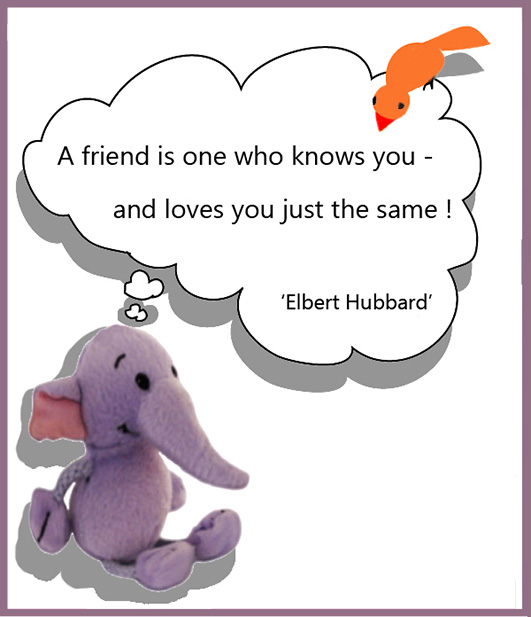Friendship picture quote