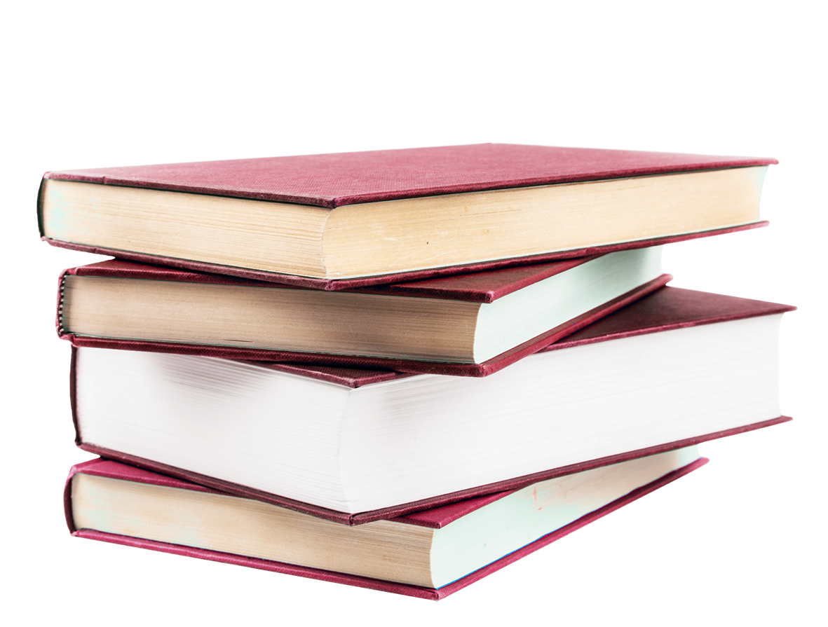 pile of red books clipart