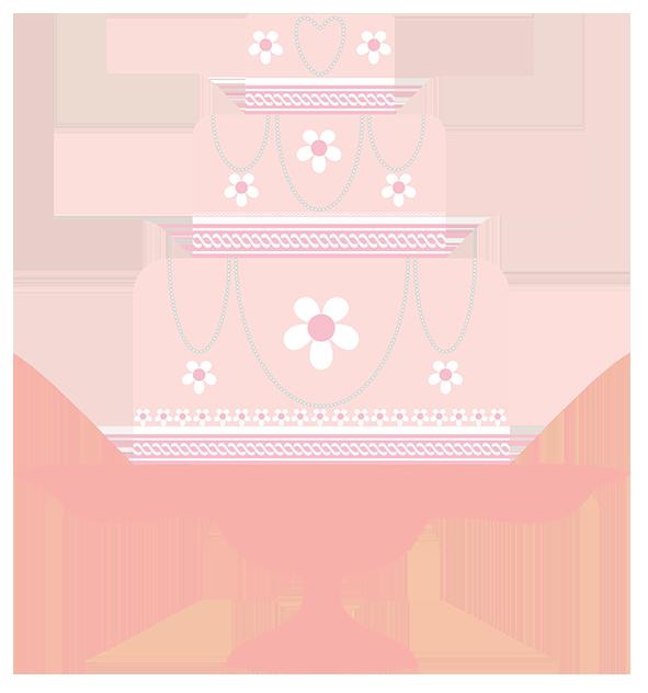 pink wedding clipart