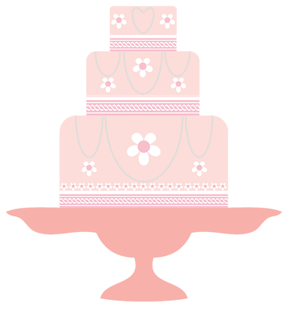pink wedding clipart