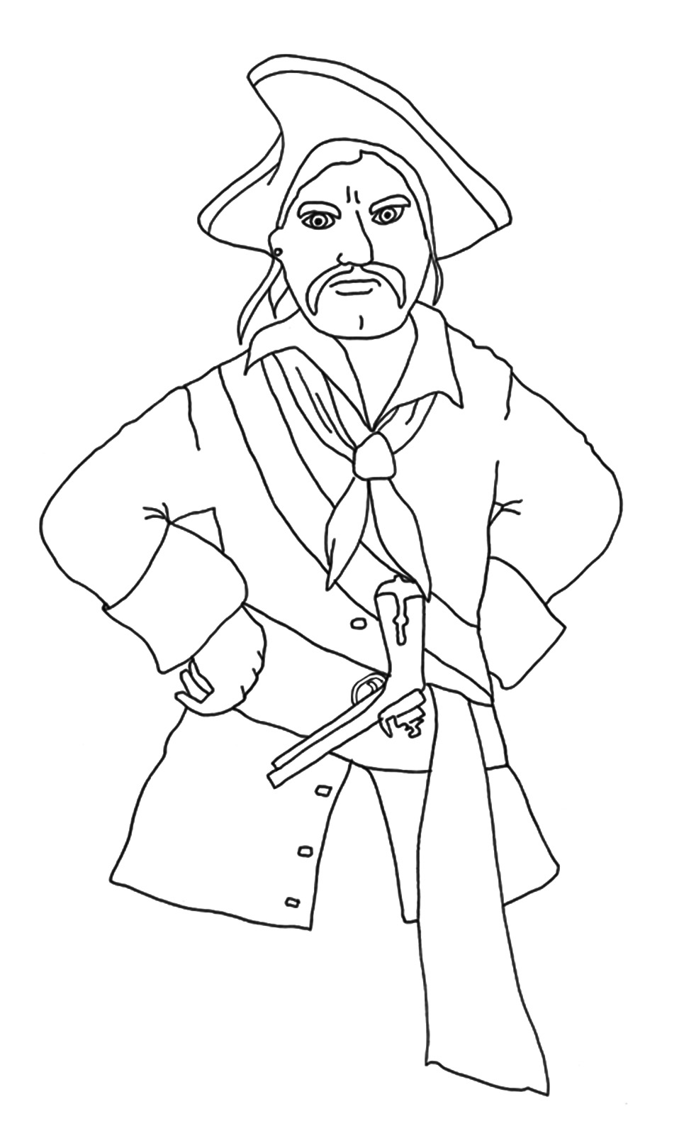 Print out coloring pages pirate