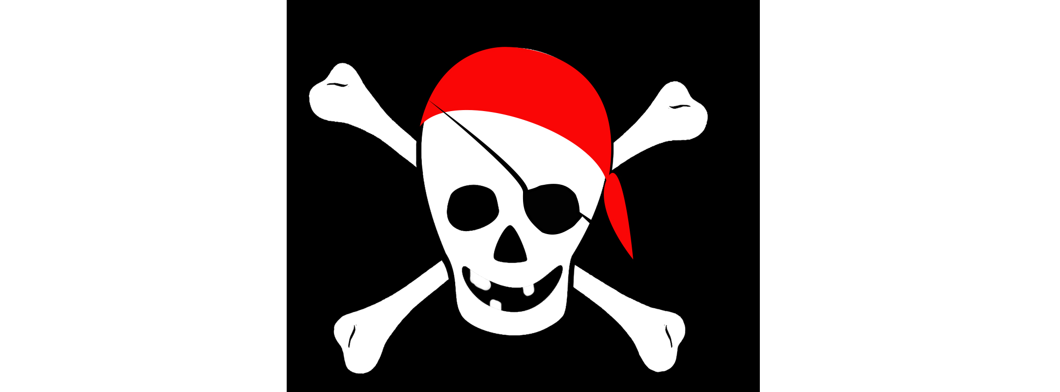 pirate cross bones and skull for tin topping game