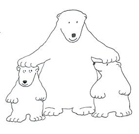 polar bear clip art pictures of polar bears rh clipartqueen com clipart polar bear outline polar bear images clipart