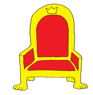 princess party throne