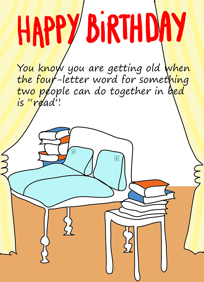 graphic relating to Funny Printable Cards named Amusing Printable Birthday Playing cards
