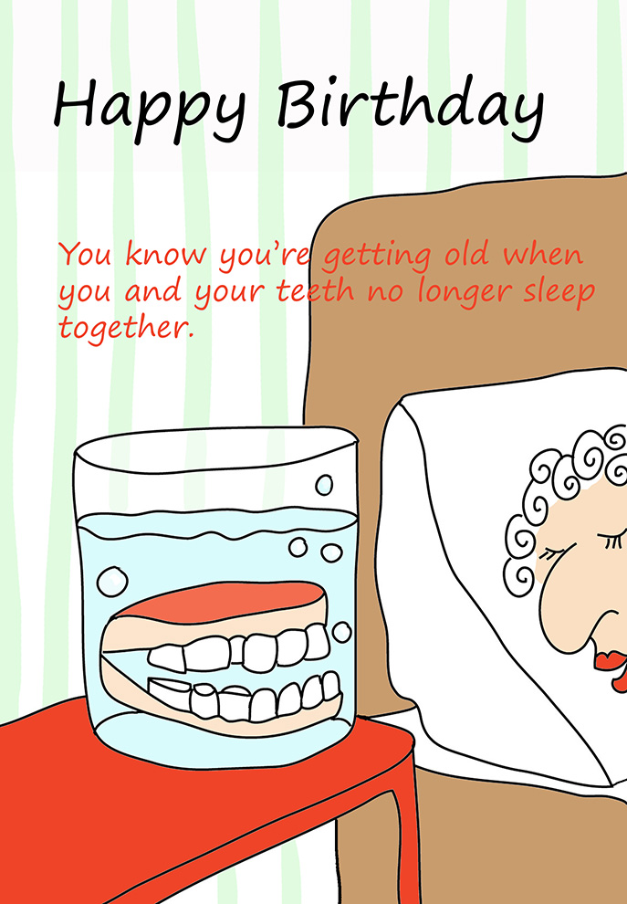 Funny Printable Birthday Cards – Funny Birthday Cards About Getting Old