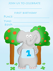 printable cards 1st birthday