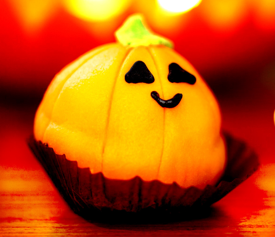 pumpkin cup cake