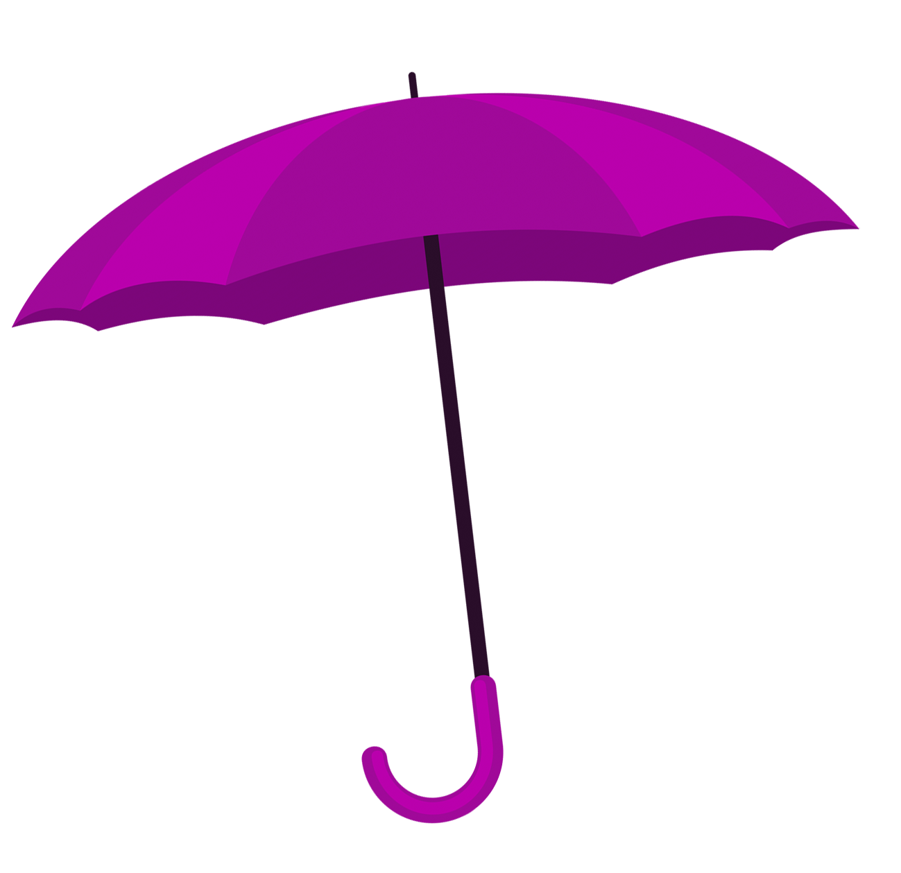 purple umbrella image