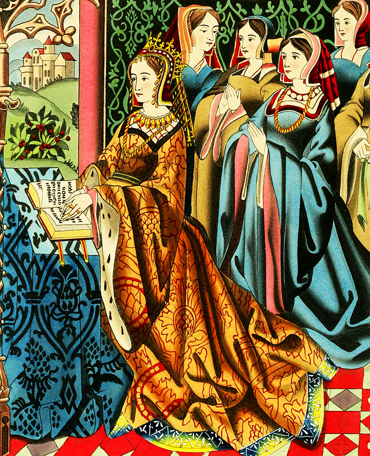 Queen Margaret to Henry 6th drawing