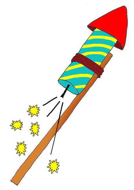 new years eve clipart new years rocket