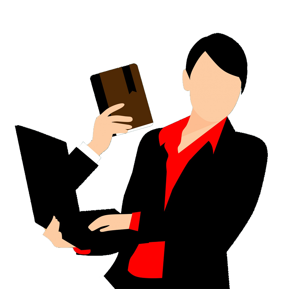 clipart book or online reading