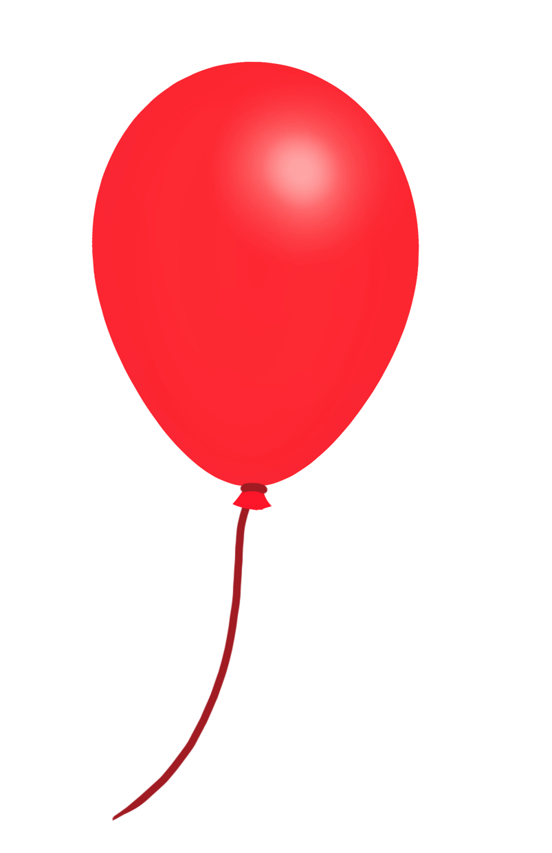 red balloon drawing