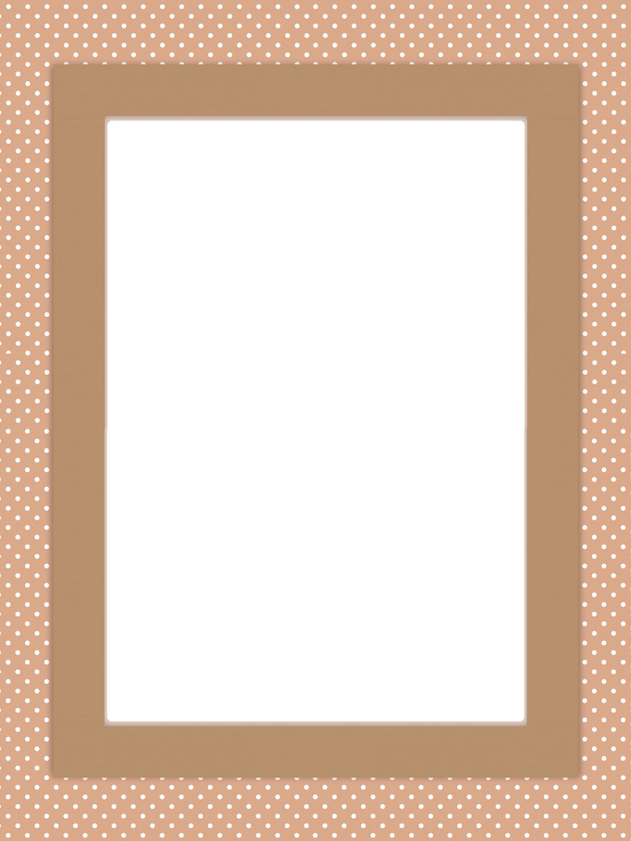 two frame pictures with spotted frames but in different colors - Www Frame Com