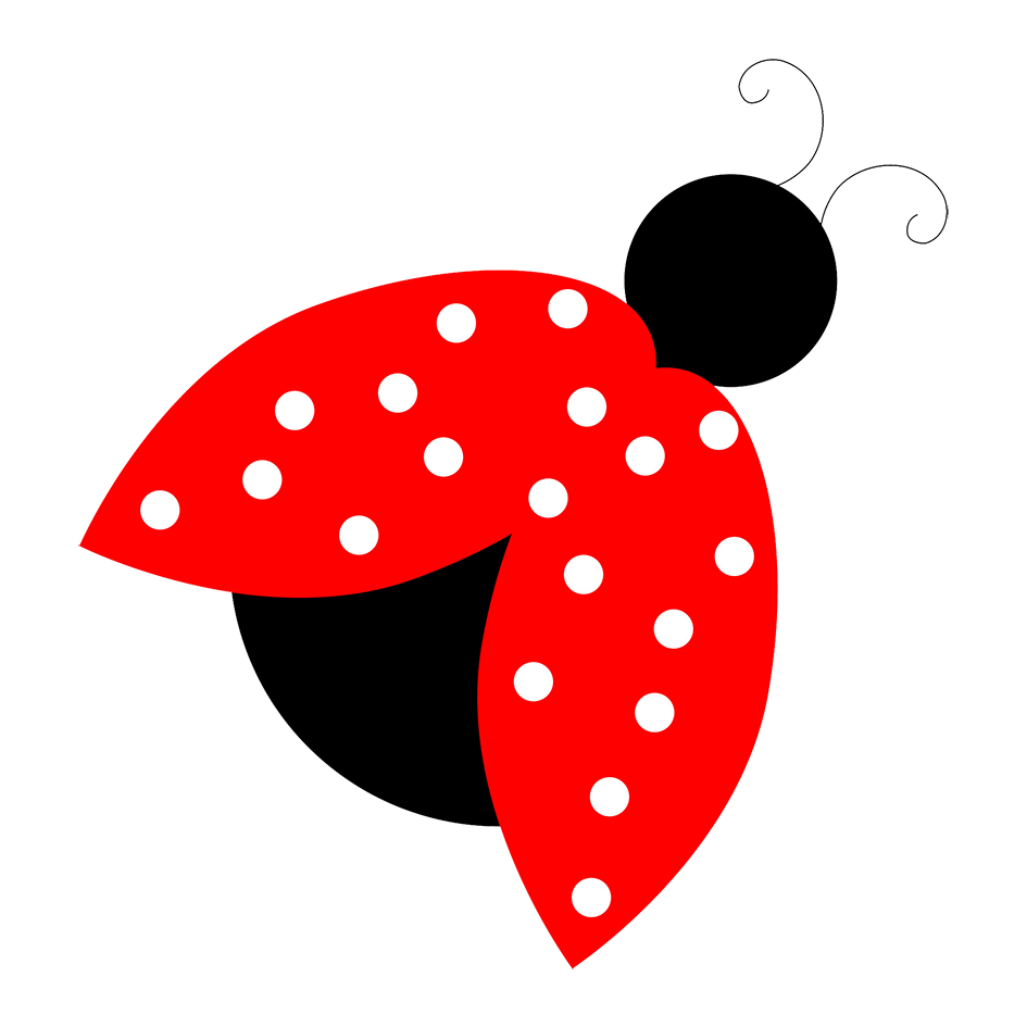 red ladybird clipart