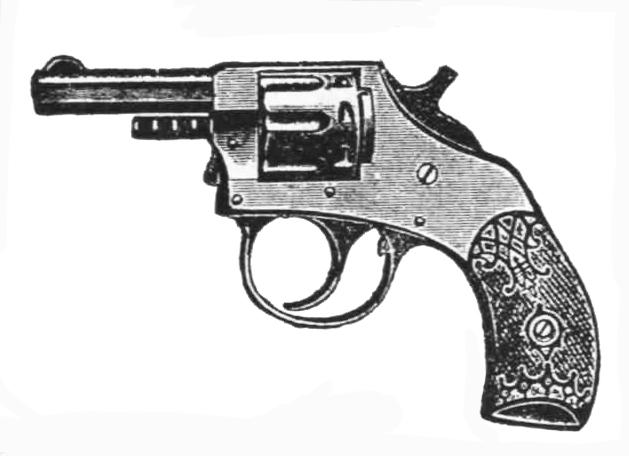 Victorian picture of revolver