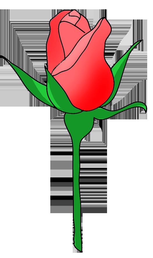 rose bud clip art
