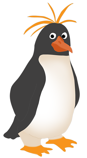 clipart of Royal penguin