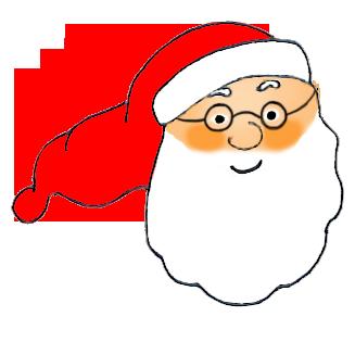 Head of Santa