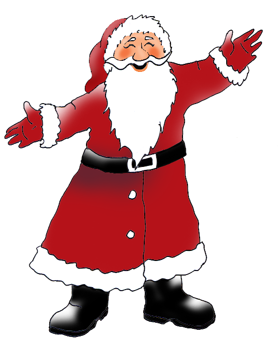 Father Christmas clipart