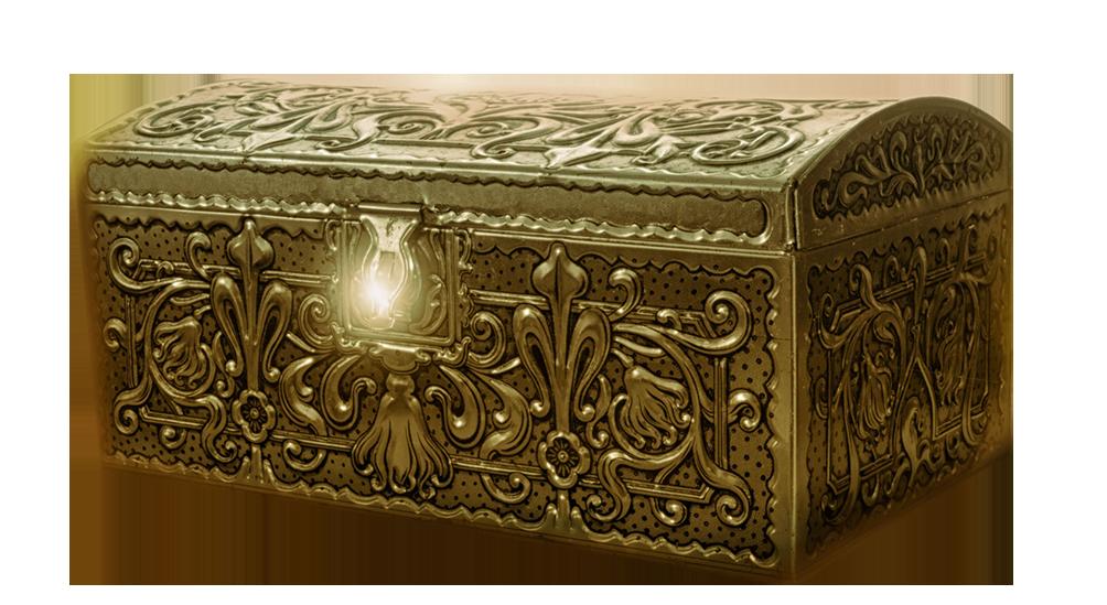 Magical pirate chest