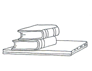 books computer school clipart