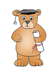 teddy bear graduation