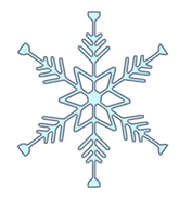 winter clipart snowflake