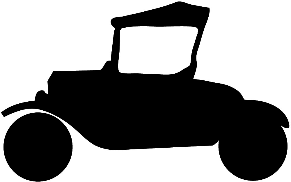 silhouette of Ford T