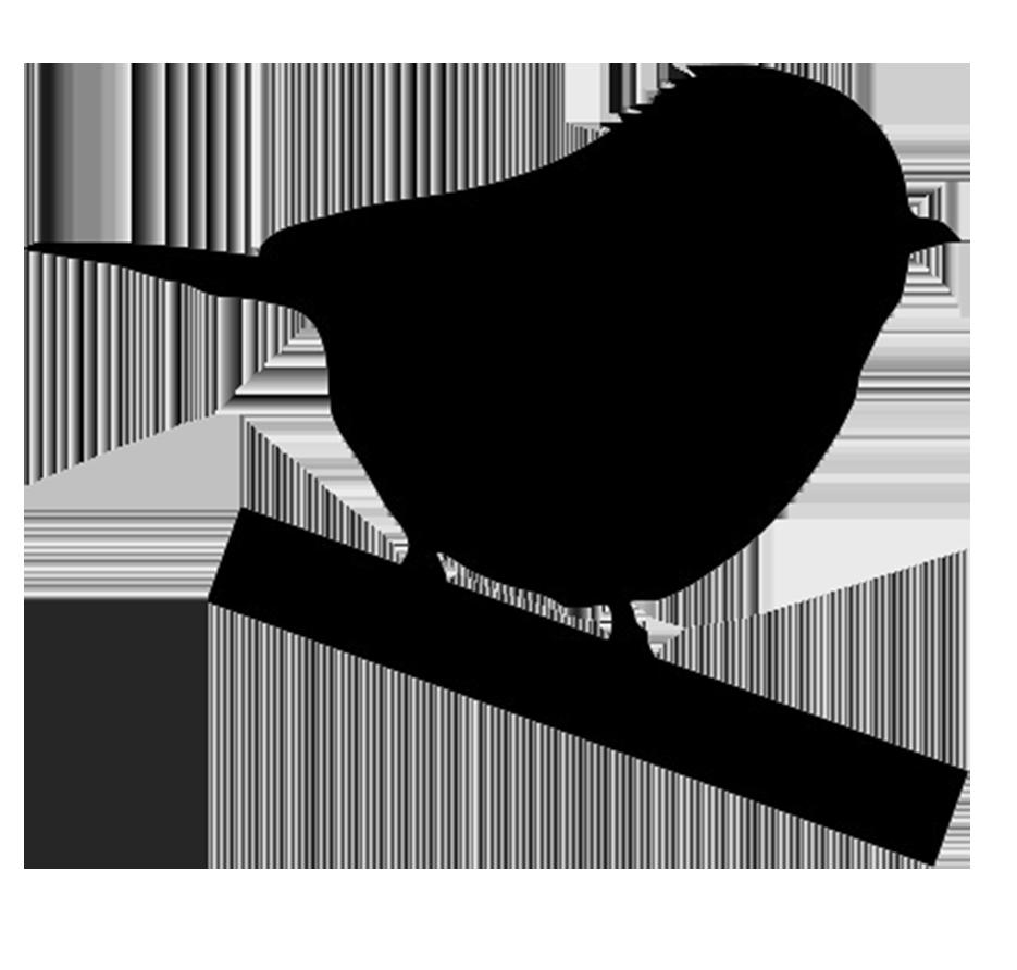 tiny bird silhouette