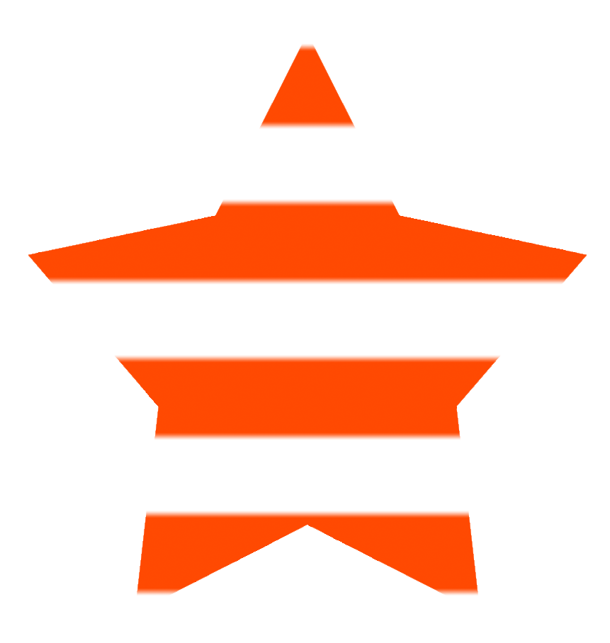 simple star red stripes
