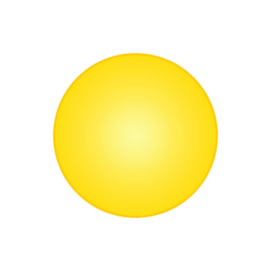 simple sun drawing