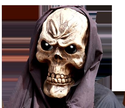 skeleton evil skull clip art