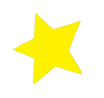 yellow star for slumber party