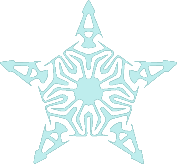 snowflake winter clipart