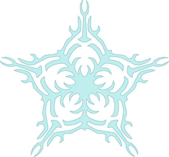 winter clipart of snowflake